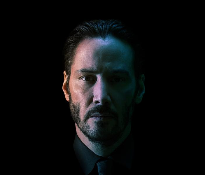 Keanu Reeves plays the titular Wick