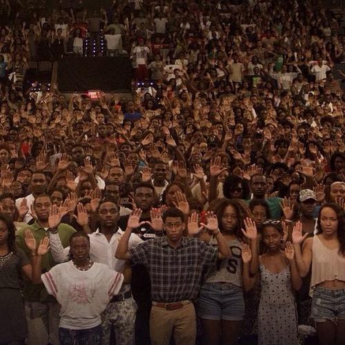 Ferguson protests. Photo: Flikr/Creative Commons