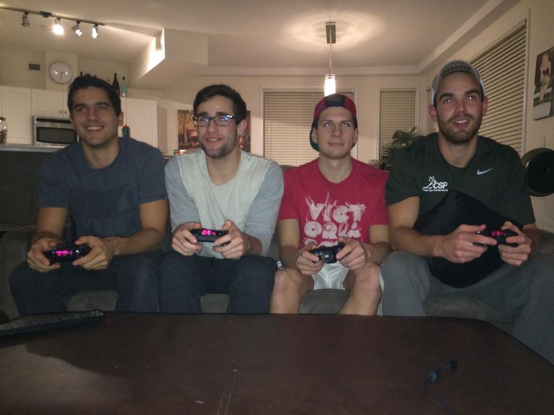 From left to right: Nicholas Kmet, Logan Ellis, Brandon McCallum, Sam CarrollAll photos by Maranda Wilson