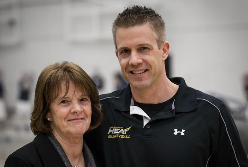 The end of an era: Heat basketball coach Heather Semenuik retired this year after two decades with the school. Photo by Greystoke Photography
