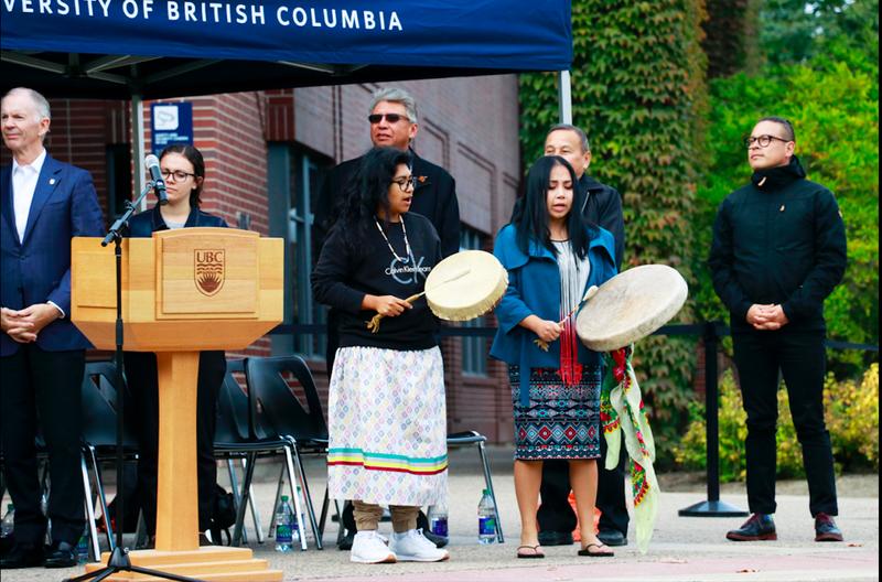 Okanagan Nation Alliance Raising the Flag Ceremony
