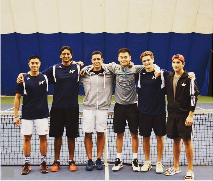 Photo provided by UBCO Tennis Club.