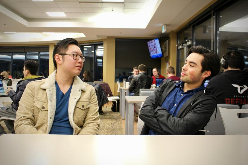 Kelvin Lei (left) and Pierre Frigon (right) - Photo by Andrea Marie Tan