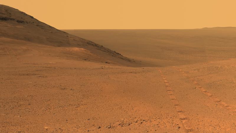 Perseverance Valley, Mars