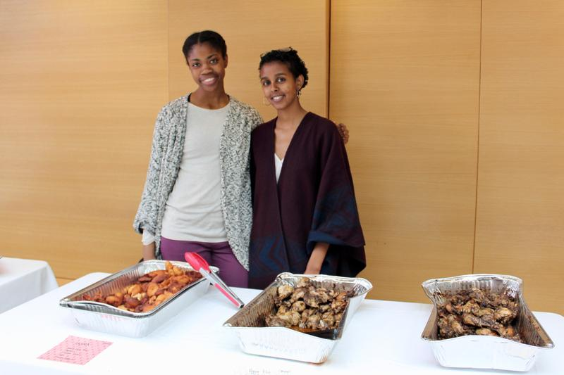 Tosin Etuhoko (left) and Miriam Woldu (right) - Photo by Andrea Marie Tan