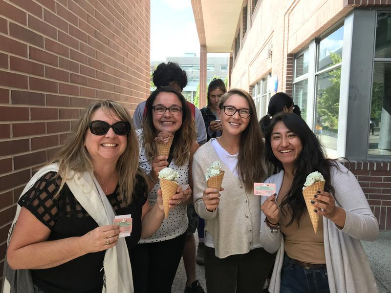 Photo provided by UBCO's Ice Cream Club