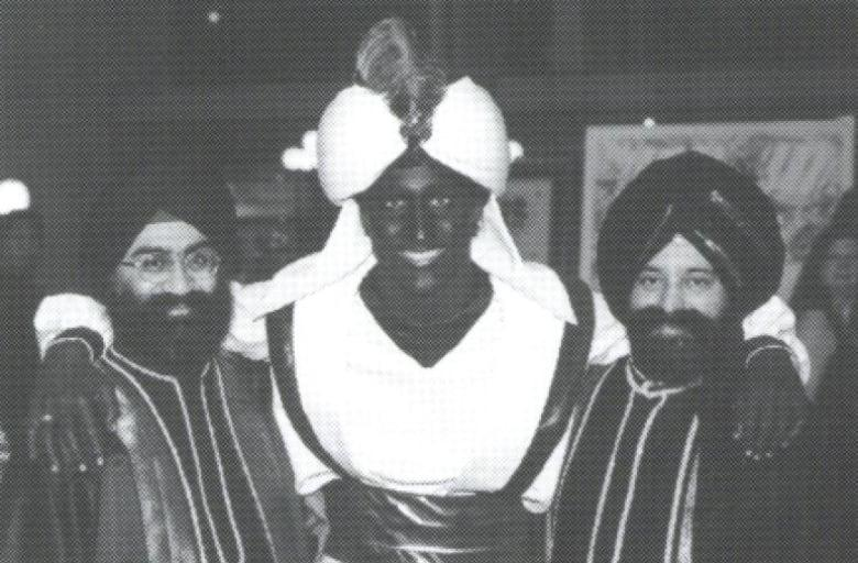 Photo from West Point Grey Academy Newsletter, April 2001