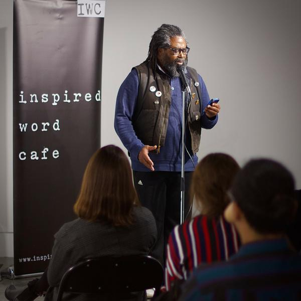 Photo from the Inspired Word Café's Facebook page.